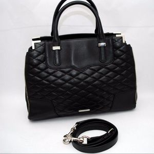Rebecca Minkoff Amorous Quilted Leather Satchel